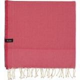 futah beach towels single Ericeira Single Towel Tango Red Folded_min