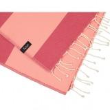 futah beach towels single Formosa Single Towel Coral Peach Detail_min
