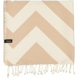 futah beach towels single Malcata Single Towel Mocha Folded_min