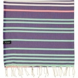 futah beach towels single Supertubos Single Towel Purple Folded_min