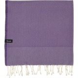 futah beach towels single Ericeira Single Towel Purple Folded_min