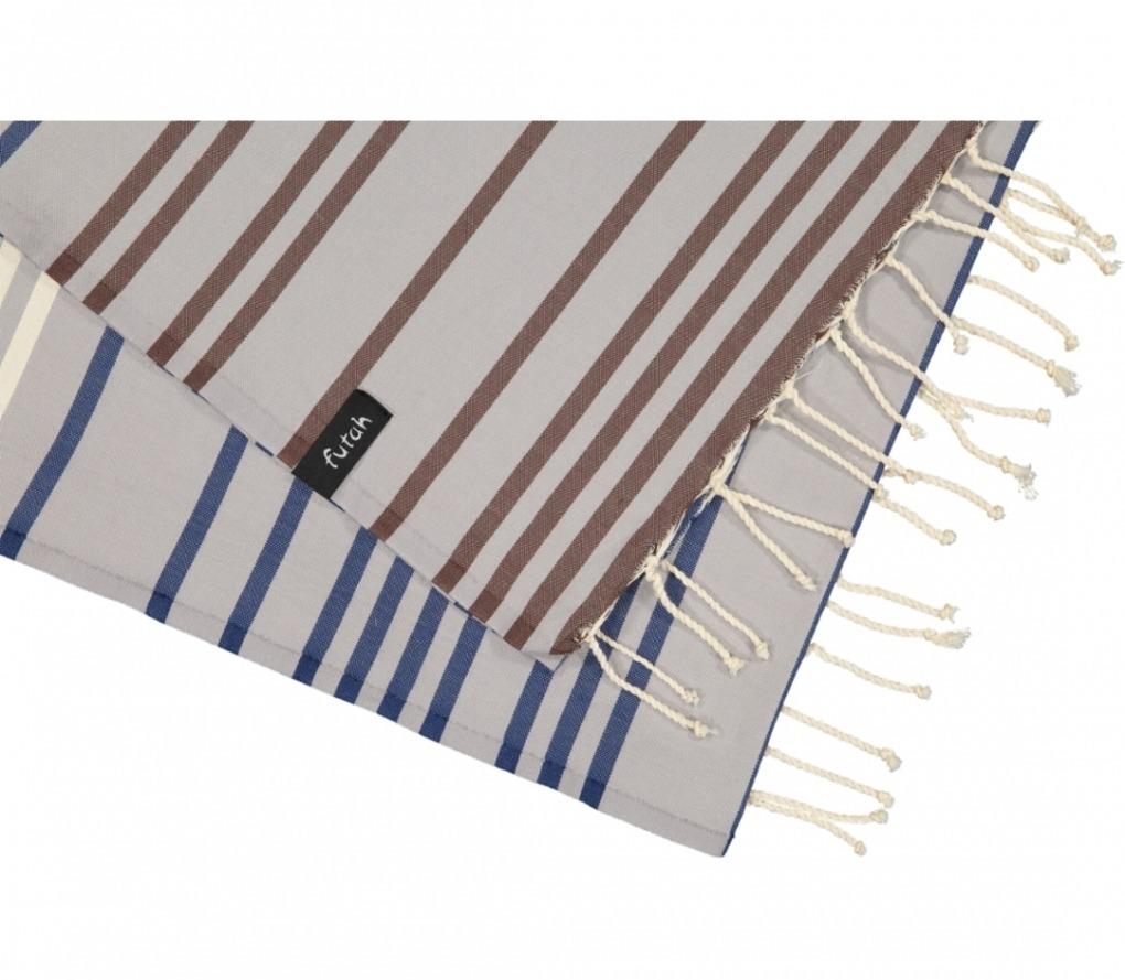 futah beach towels single Supertubos Single Towel Blue Detail