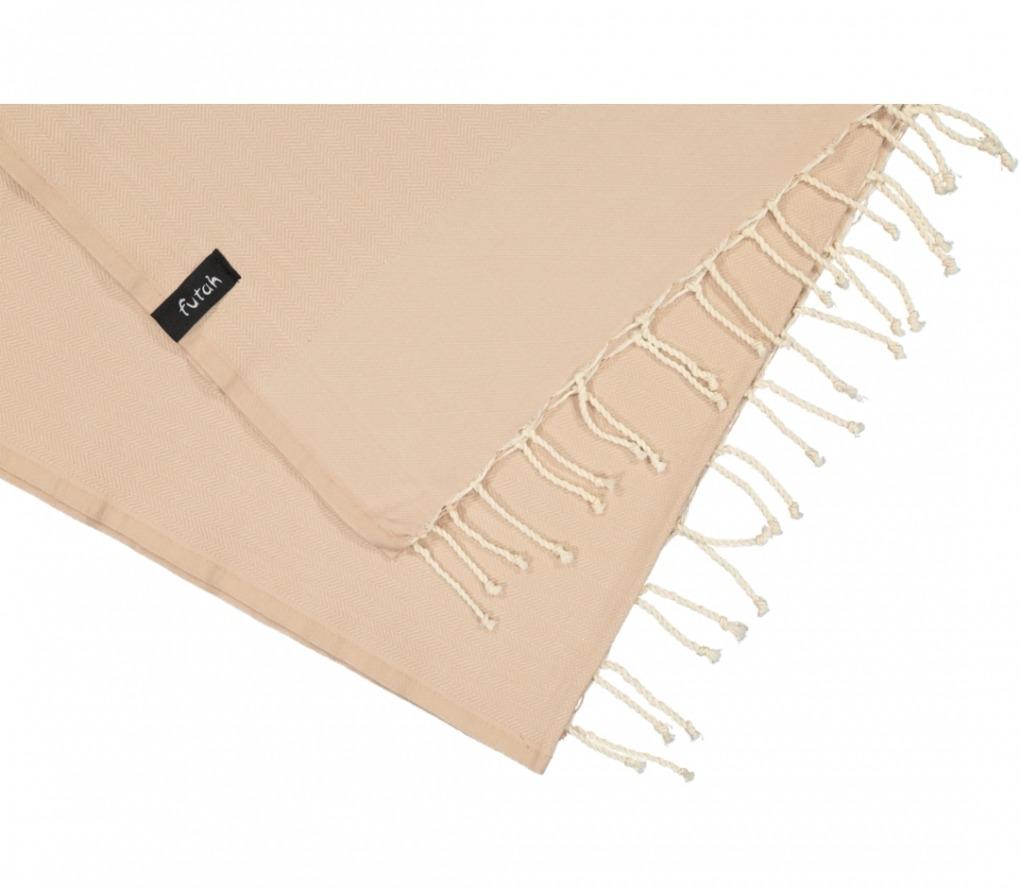 futah beach towels single Ericeira Single Towel Mocha Detail