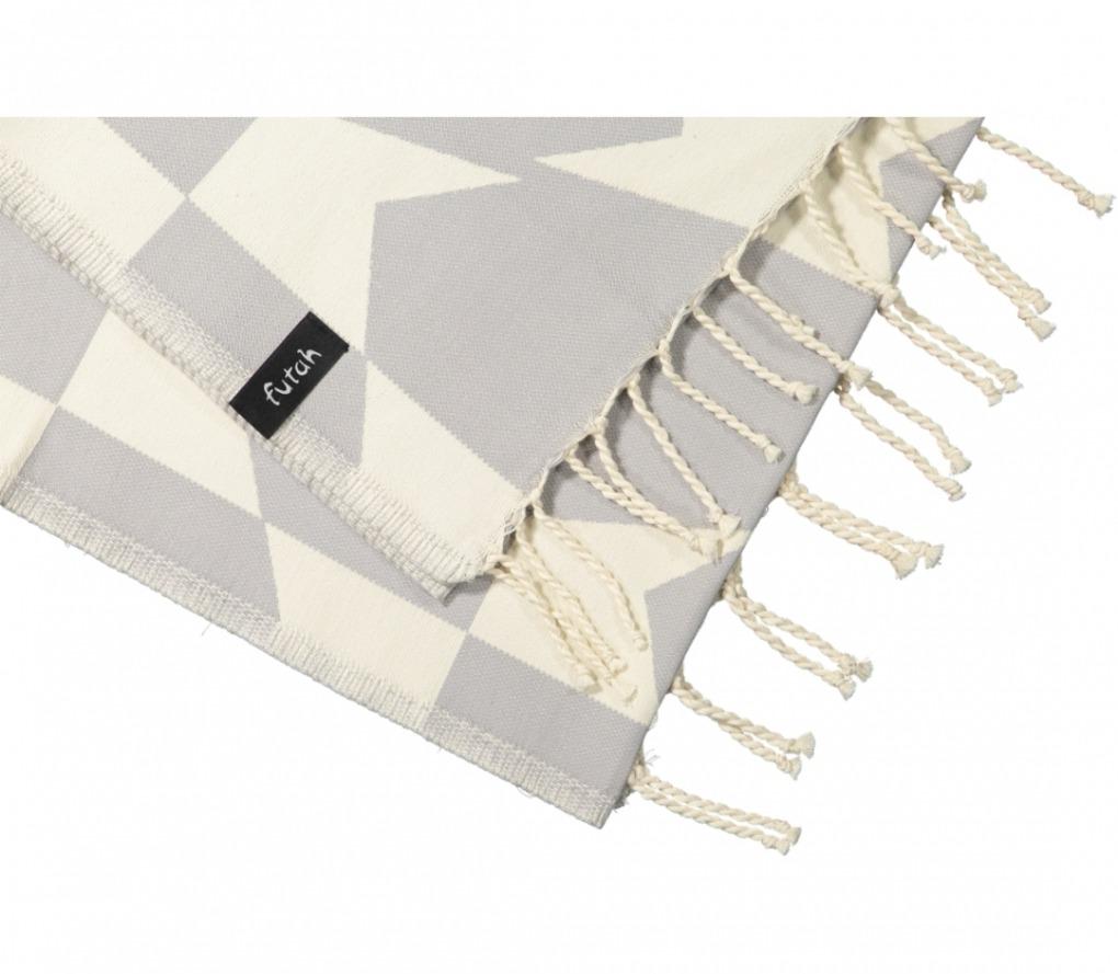 futah beach towels single guadiana opal grey_Detail_FUTAH