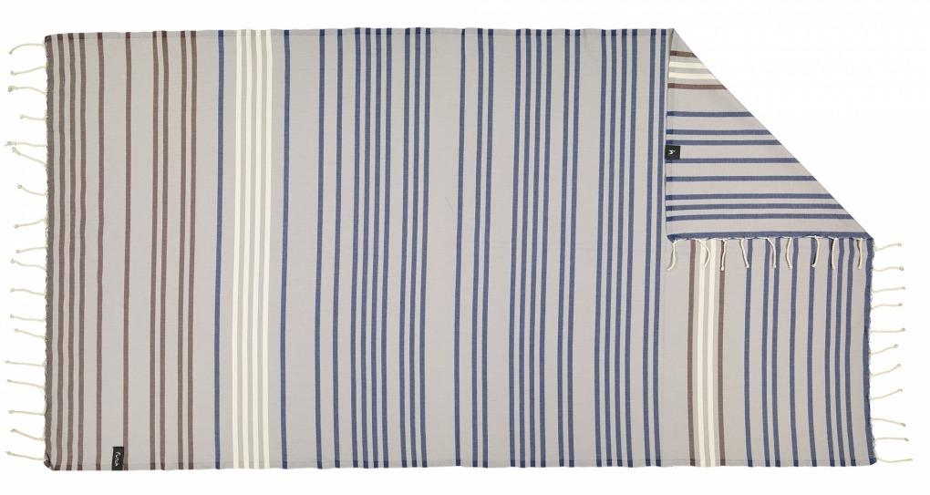 futah beach towels single Supertubos Single Towel Blue Back
