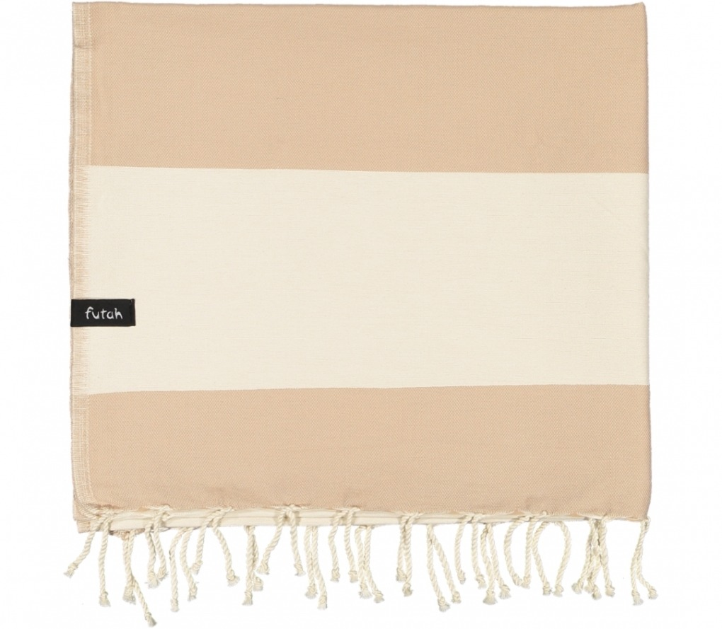 futah beach towels single Formosa Single Towel Mocha Folded