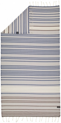 Futah - Supertubos Blue Single Towel