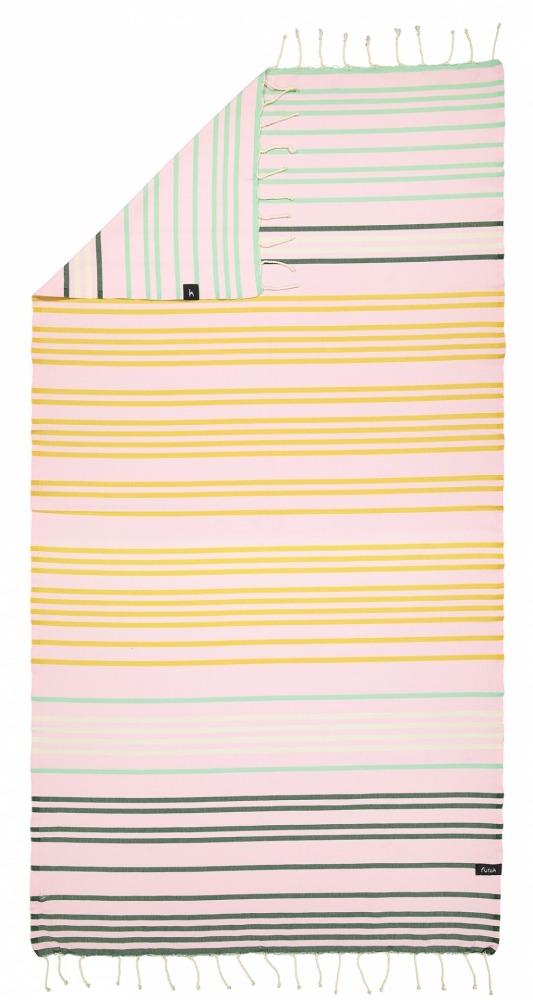 futah beach towels single Supertubos Single Towel Mustard Back