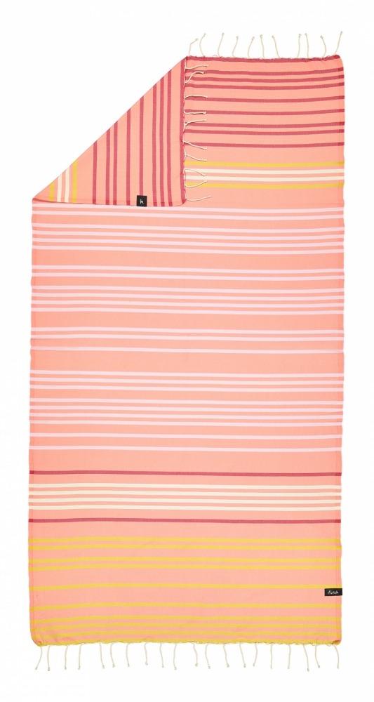 futah beach towels single Supertubos Single Towel Peach Back