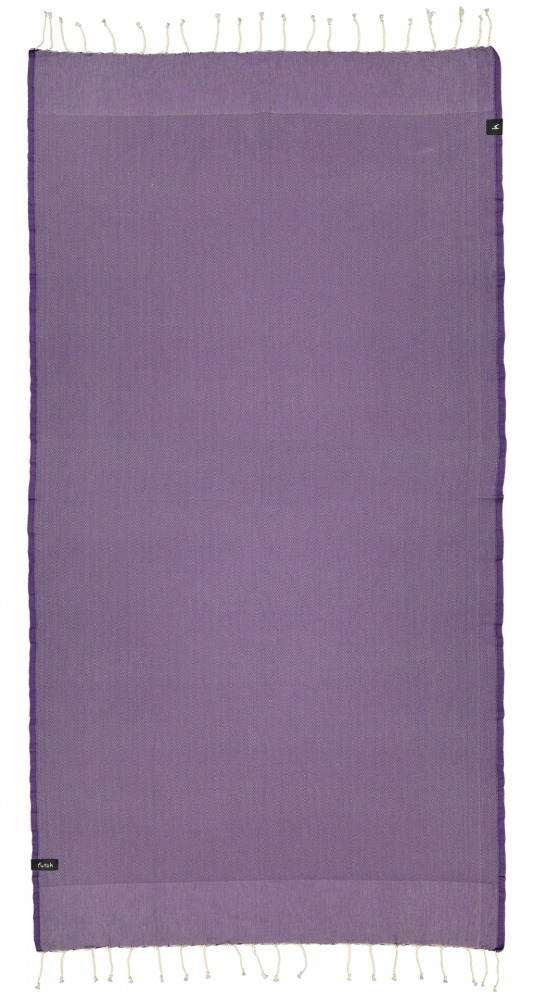 futah beach towels single Ericeira Single Towel Purple Front
