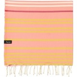 futah beach towels single Supertubos Single Towel Peach Folded_min
