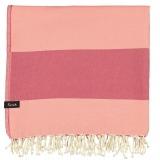 XL Towel Formosa Coral Peach Folded_min