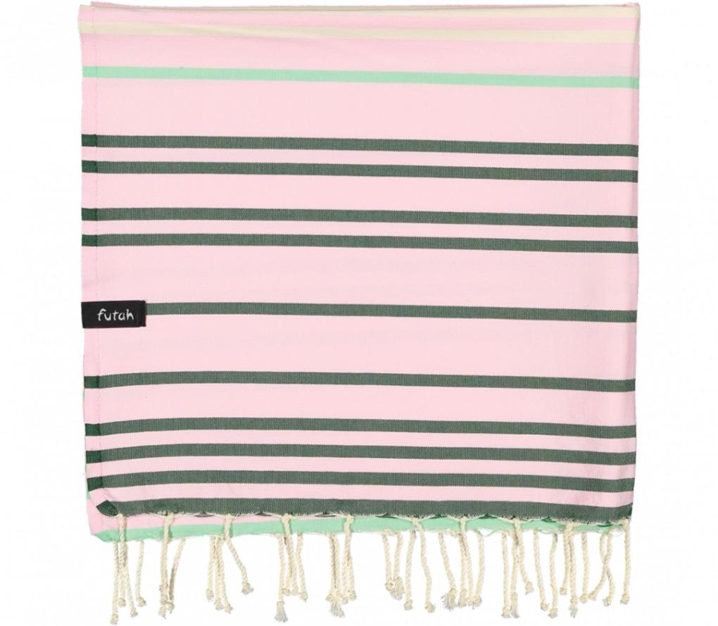 futah beach towels single Supertubos Single Towel Mustard Folded