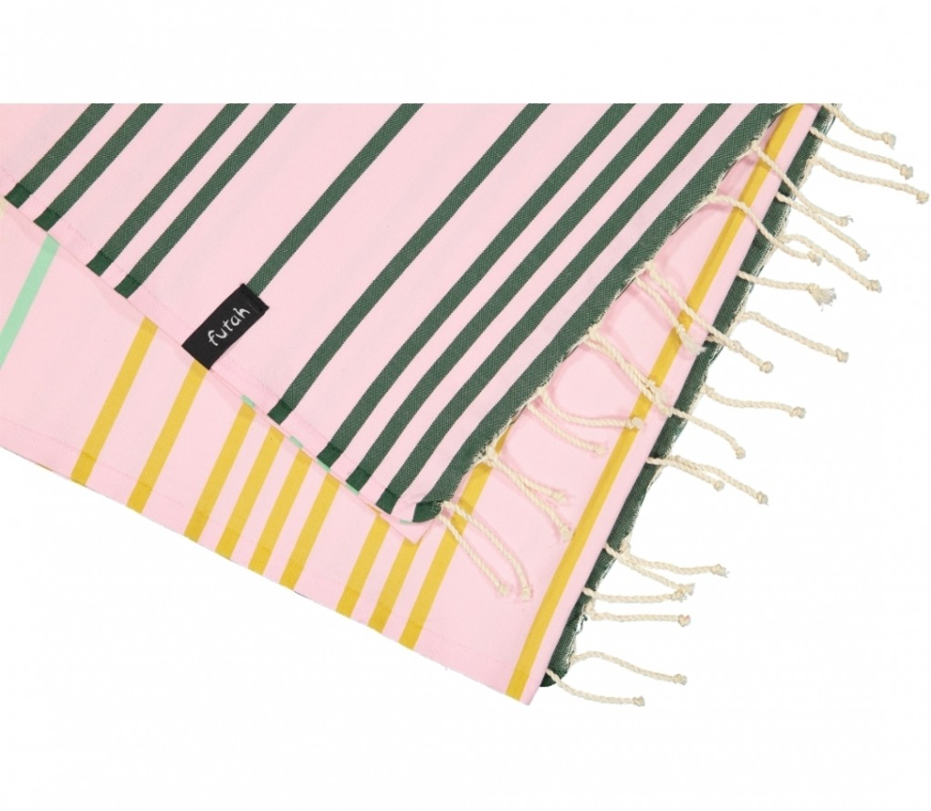 futah beach towels single Supertubos Single Towel Mustard Details