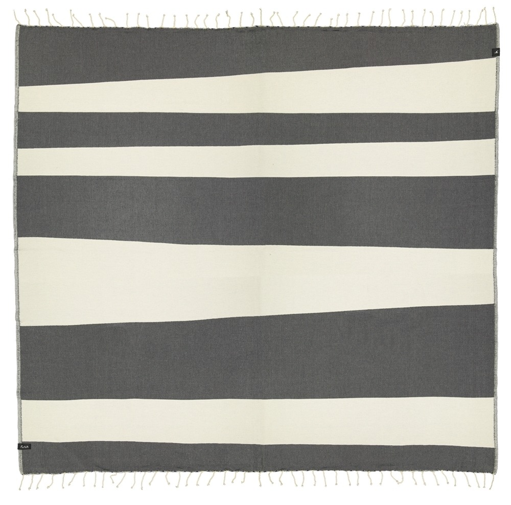 XL Towel Formosa Deep Black Front