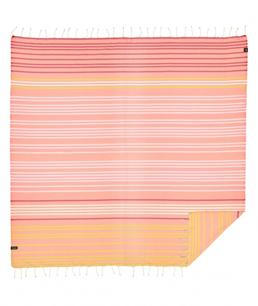 futah beach towels double Supertubos XL Towel Peach Front
