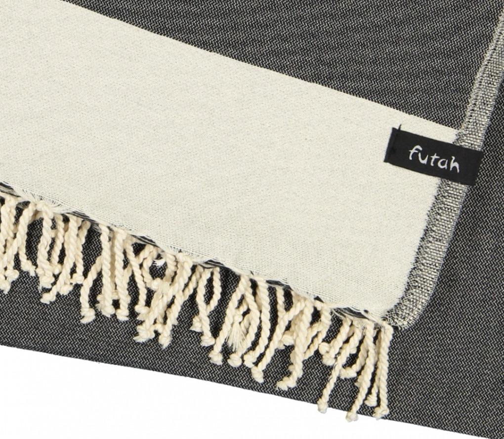 XL Towel Formosa Deep Black Detail