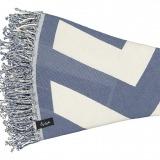 Round Towel Malcata Blue _Folded_min