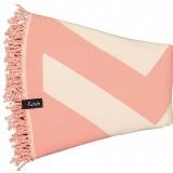 Round Towel Malcata Coral_Folded_min