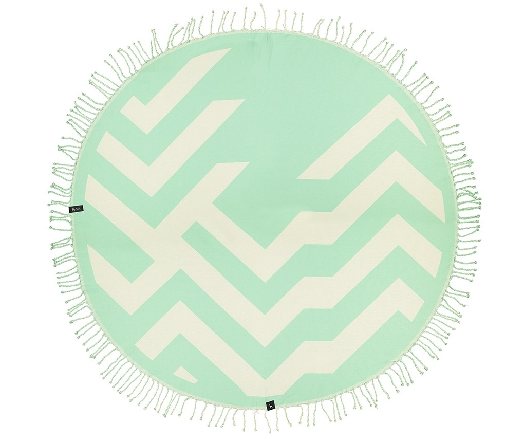 Round Towel Malcata Water _Front