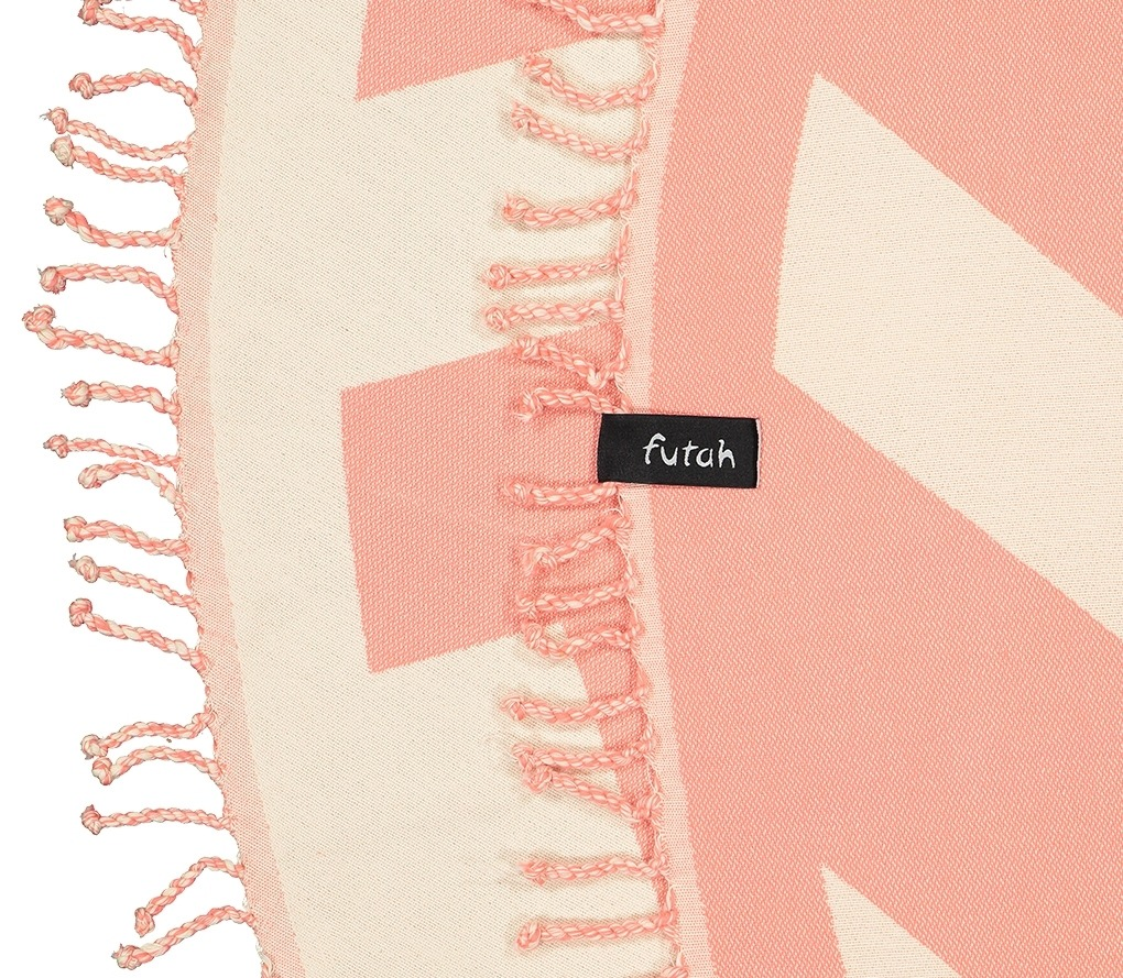 Round Towel Malcata Coral_Detail-