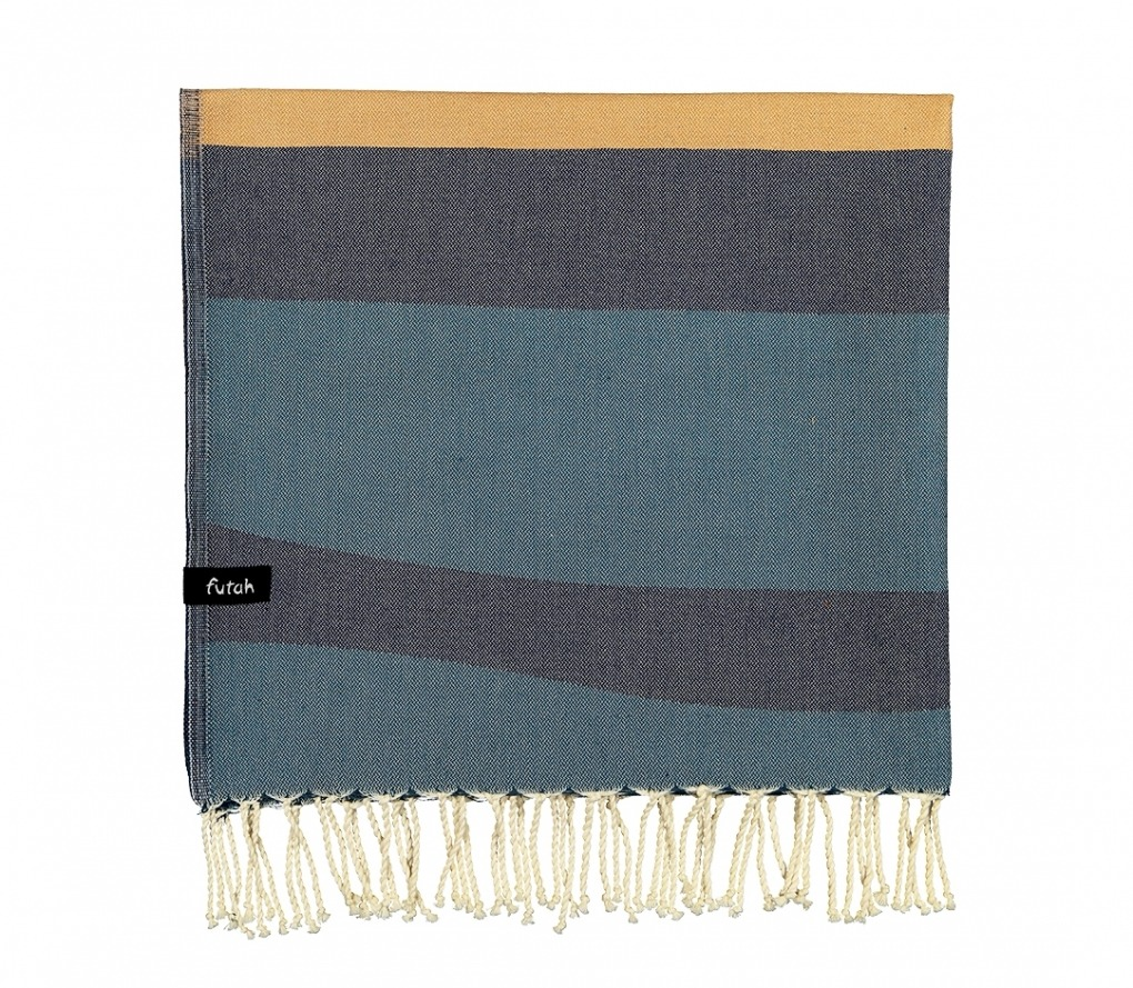 VOUGA_SINGLE_ BEACH TOWEL_BLUE_5600373064453