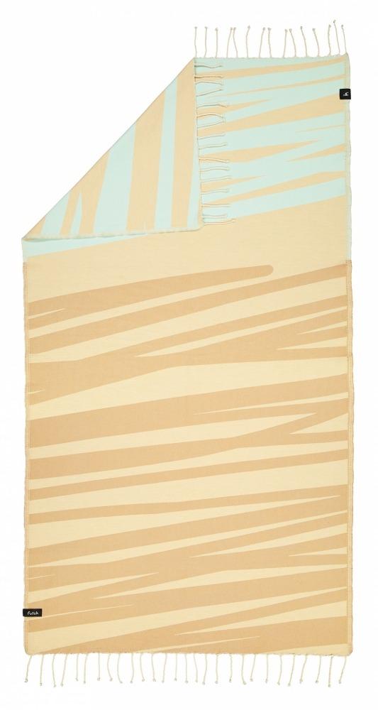 AMOROSA_MOCHA_SINGLE BEACH TOWEL_5600373064354_2
