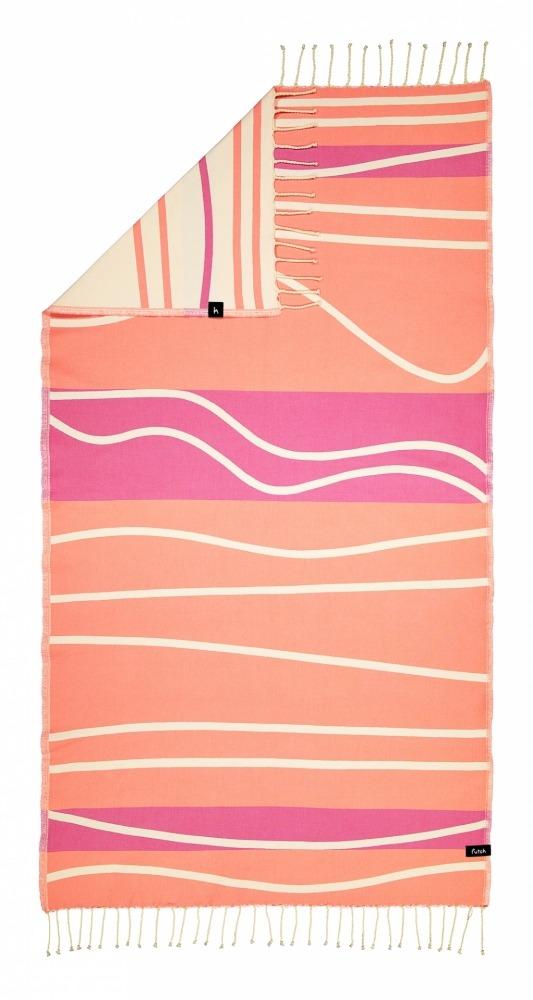 INSUA_SINGLE_ BEACH TOWEL_CORAL_5600373064439_2