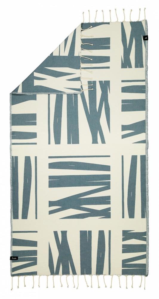 FOUPANA_ SINGLE_ BEACH TOWEL_ASH BLUE_5600373064538_1