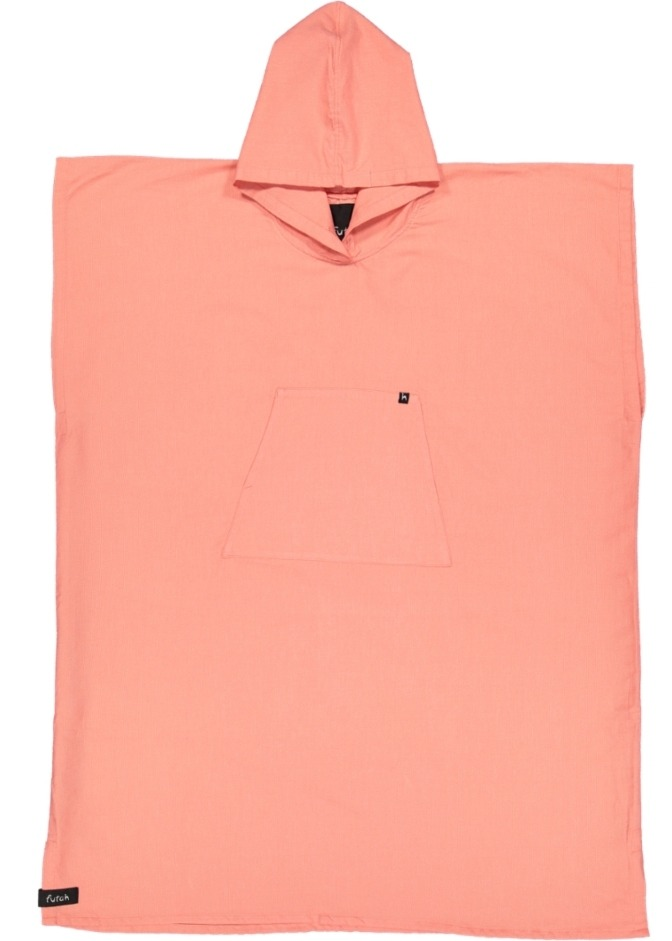 futah beach towels poncho Ericeira Poncho Coral Front