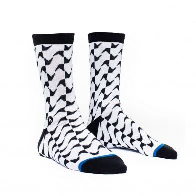 Futah - Guadiana Black and White Socks