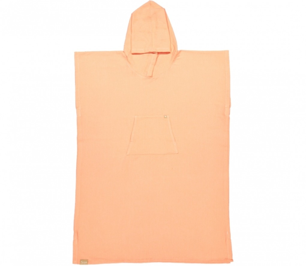 poncho ericeira coral_Front_FUTAH