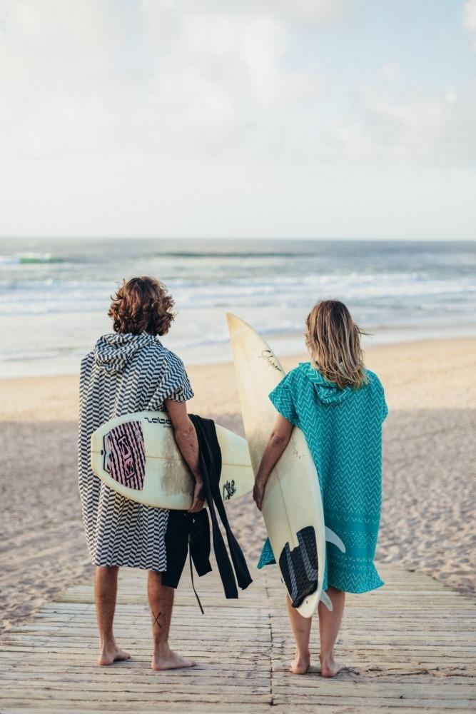 Surf Poncho Futah Barra Emerald_3