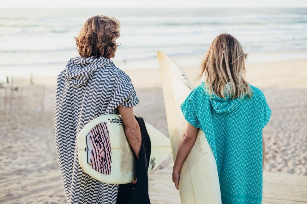 Surf Poncho Futah Barra Emerald_1