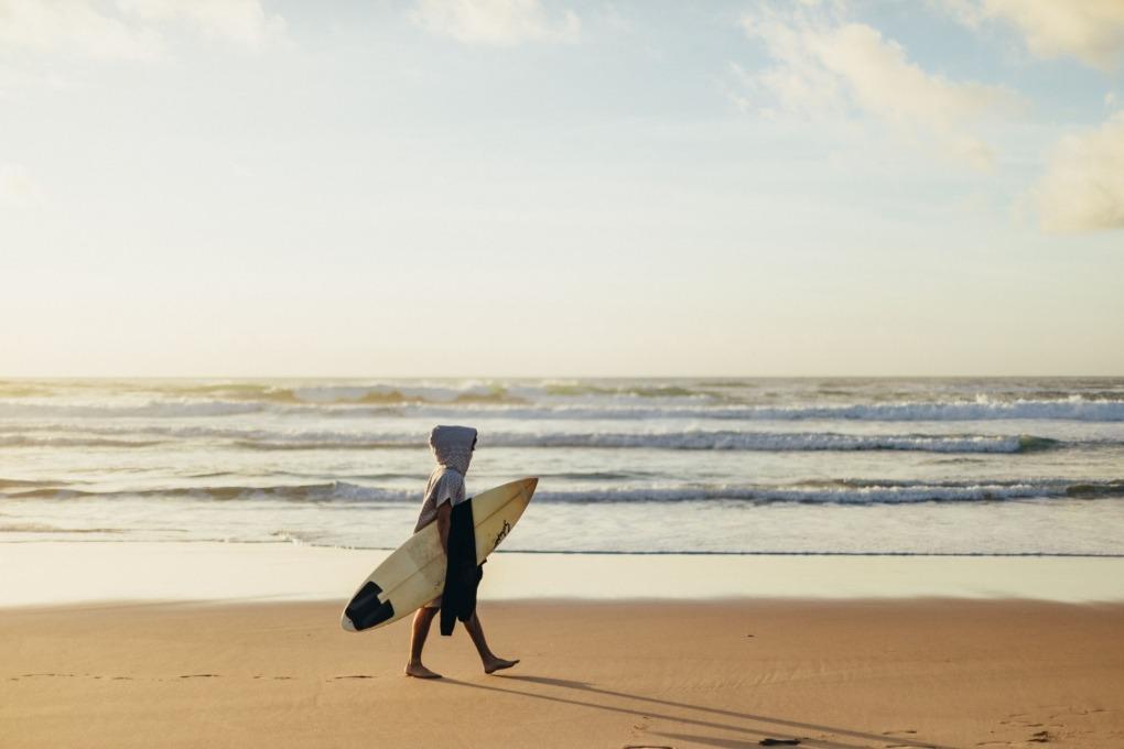 Surf Poncho Futah Barra Grey_3